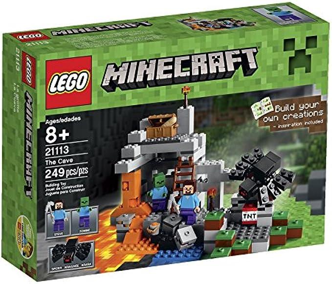 LEGO Minecraft 21113 המערה