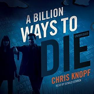 A Billion Ways to Die audiobook cover art