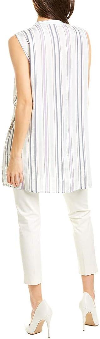Vince Camuto Womens Button-Down Stripe Blouse, Xs