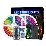 Tira LED 5050 RGB set 10M Epoxy Impermeable Control infrarrojo Luz decorativa para exteriores