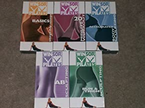 Winsor Pilates 5 VHS Set: Bun & Thigh Sculpting, Ab Sculpting, Accelerated Body Sculpting, Basics Step-By-Step, 20 Minute Workout