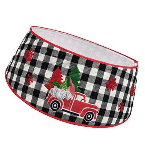 VALICLUD Gonna Collare Albero Di Natale Tappetino Tappeto Tappetino Per Feste Di Natale