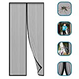 Magnetic Fly Screen Door, That Automatically Close The Corridor Patio Door Mosquito Net for Windows, Easy to Install Without Tools