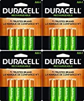 16x新しいDuracell AA電池充電式水素Precharged 2400mAh +無料バッテリーホルダー