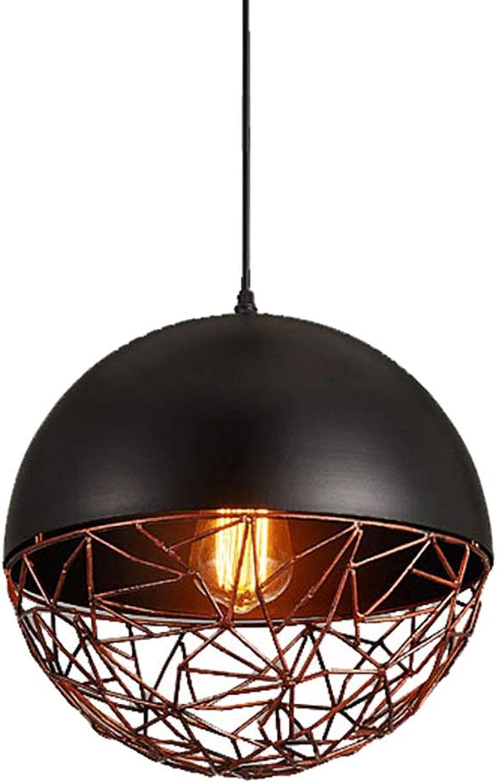 Lustre Vintage Style Industriel Globe Pendentif Lumière Restaurant Bar Café Lustre 30 CM
