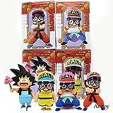 Yvonnezhang Dr.Slump Arale Cosplay Dragon Ball Z Son Goku Krillin Anime Dibujos Animados Divertido P...
