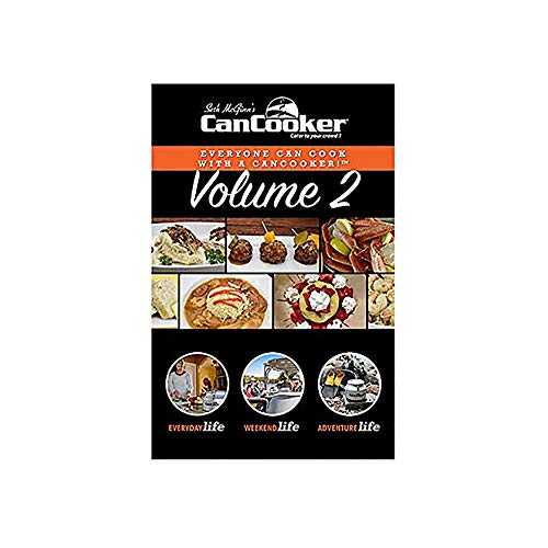 CanCooker Inc. CBVII-1004 CanCooker Over 100 Page, Kitchen-Tested 5 Meal Recipe Cookbook Volume 2 Everything From Breakfast to Dessert