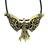 De cazadores de Ciudad de hueso lámpara de techo collar con colgante en forma de ángel Tessa Clockwork cazador de sombras colección Clary Fray