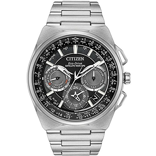 Citizen CC9008-50E Mens Eco-Drive Watch Satellite Wave F900 Titanium band