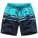 Trajes De Baño Traje de baño de los hombres Pantalones cortos de la playa de empalme personalizados Cómodos Troncos de natación transpirables Perfectos para nadar Vacaciones de playa Pantalones cortos