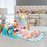 Jugar Mat Baby Crawling - Alfombra para jugar a música, 3 – 6 – 12 meses, recién nacido, incluye numerosos ritmos de lactancia y funciones hipnóticas relajantes.