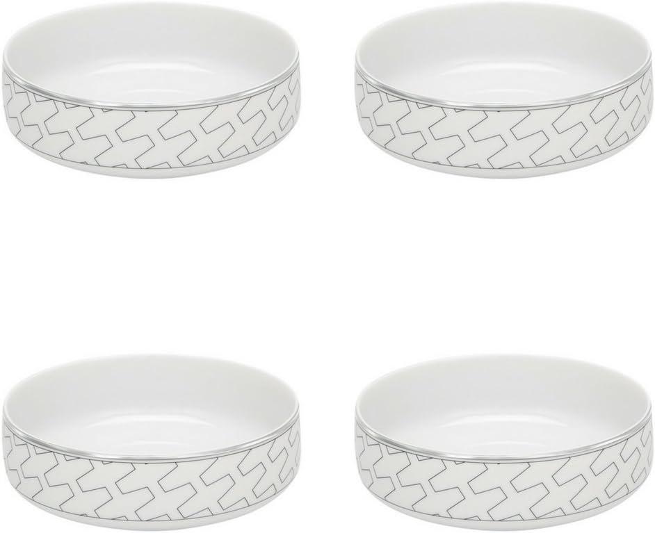 Max 48% OFF Vista Alegre Porcelain Trasso Cereal 4 Set Topics on TV of Bowl -