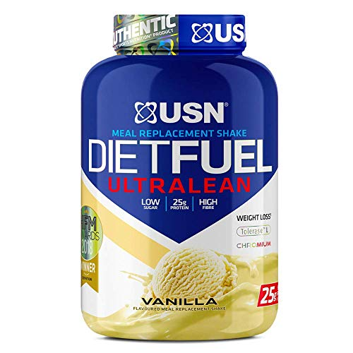 USN Diet Fuel Meal Replacement Protein Shake Vanilla, 2Kg