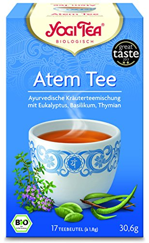Yogi Atem Tee BIO 6 Packungen à 17 Teebeutel