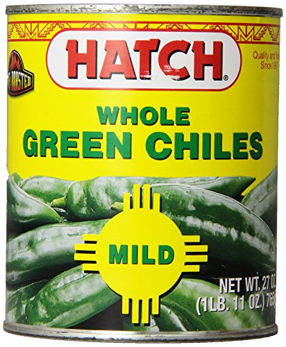 Hatch Chile Company Hatch Whole Green Chilies, 27-Ounce (Pack Of 1)