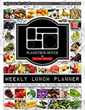 Weekly Lunch Planner: School Year Lunchbox Planner for the PlanetBox Rover Bento Box: 40 Weeks of Planning Pages & Lunch Ideas (Bento Lunch Box Planners)