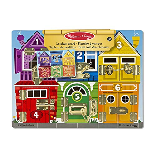 Melissa and Doug Wooden Latches Board