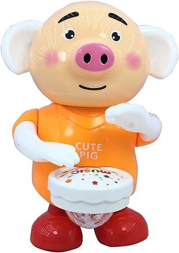 Je vais agir maintenant Les Enfants Dansent des Tambours de Chant électrique poussant Cochon bébé Enfants Jouets électriques