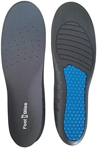 Best Plantar Fasciitis Shoe Insoles Anti Fatigue Orthotic Foot Inserts for Men Women Shock Absorption product image