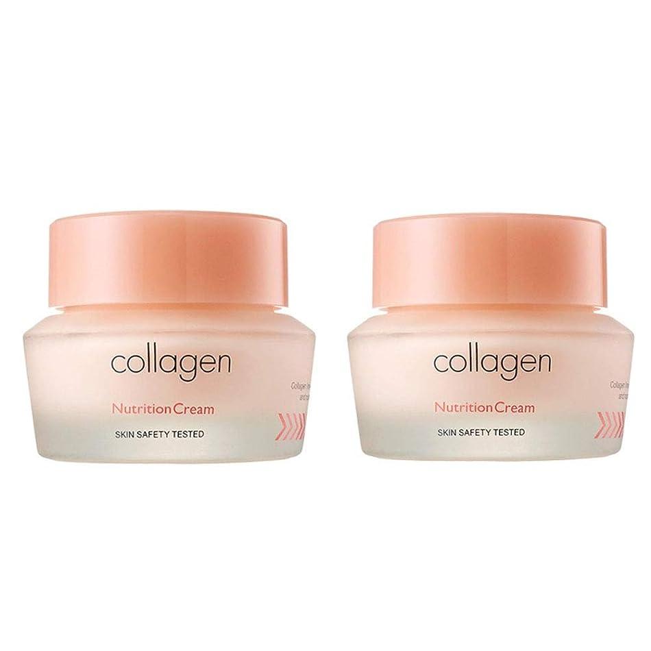 レバーウォルターカニンガムコンプライアンスイッツスキンコラーゲン栄養クリーム50ml x 2本セット、It's Skin Collagen Nutrition Cream 50ml x 2ea Set [並行輸入品]