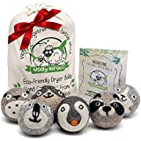 Wooly Heroes Wool Dryer Balls - Organic Eco Friendly - 6-Pack XL...