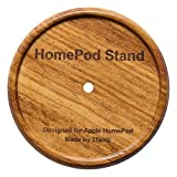 Tfamy Apple HomePod Stand (Doussie Wood)