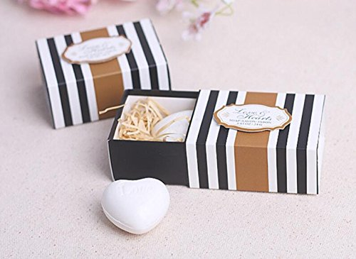 Affordable cute rabbit 96pcs Love Heart Soap for Wedding Favor and Baby Shower Favor