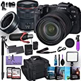 Canon EOS RP Mirrorless Digital Camera with RF 24-105mm f/4L is USM Lens Plus Mount Adapter EF-EOS R Bundled w/ (Pro Microphone, 4 Pack Photo Editing Software & More)