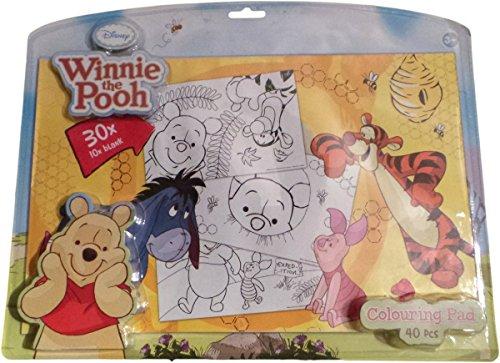 Disney Winnie the Pooh Ausmalbilder - Winnie und seine Freunde - 40 Blätter