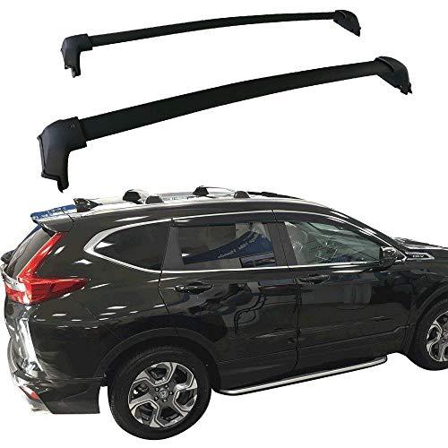 ANTS PART for 2017-2020 Honda CR-V CRV Roof Rack Cross Bars Top Rail Luggage Carrier Pair Set Black(Need Factory Side Rails)