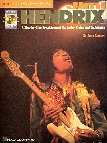 Hendrix Jimi Signature Licks Tab + CD