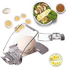 Stainless Steel Tabletop 1pcs Egg Slicer Cutter Tomato Mushroom Boiled Egg Ham Kiwi Multi Functional Cutter Kitchen Egg Tool