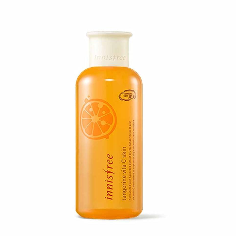 脱獄コイン午後イニスフリータンジェリンビタCスキン(トナー)200ml Innisfree Tangerine Vita C Skin(Toner) 200ml [海外直送品][並行輸入品]