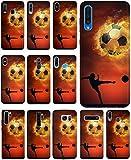 KUMO Hülle für Lenovo K5 Handyhülle Design 1333 Fußball