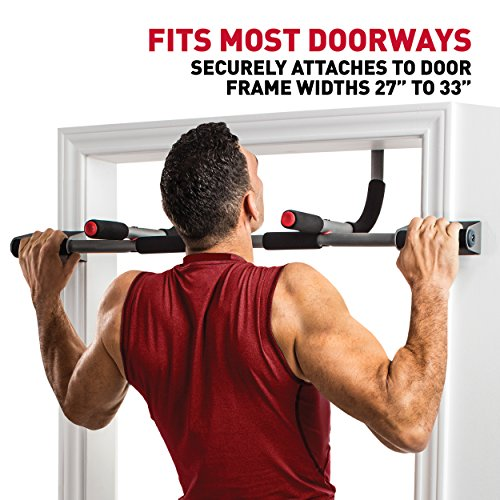 Product Image 5: Perfect Fitness Multi-Gym Doorway Pull Up Bar and Portable Gym System, Pro