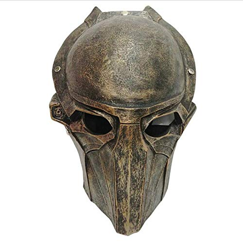 Story of life Halloween Masken Horror Predator Adler Maske Terror Film-Partei-Maskerade-Fantasie-Kostüm Cosplay Harz Maske,Messing