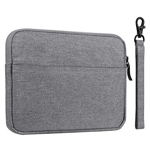 Sleeve Case for Amazon Kindle Paperwhite/Voyage, E-Reader Protective Cover Pouch Bag for 6 Inch Kindle Oasis and All 6 Inch Device- Gray