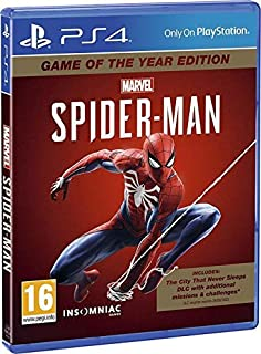 Marvels Spider Man Game Of The Year Edition PS4 PlayStation 4 by Insomniac