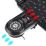 Votre choix idéal, profitez simplement de la vie Ordinateur portable de haute qualité Cooling Pad Mute Air Turbo Cooling Fan...