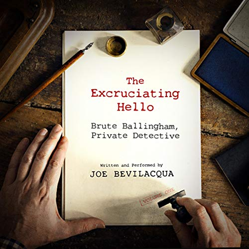 The Excruciating Hello audiobook cover art