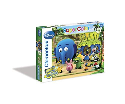Clementoni - Puzzle Jungle Crossroads 60 Piezas 26847.4