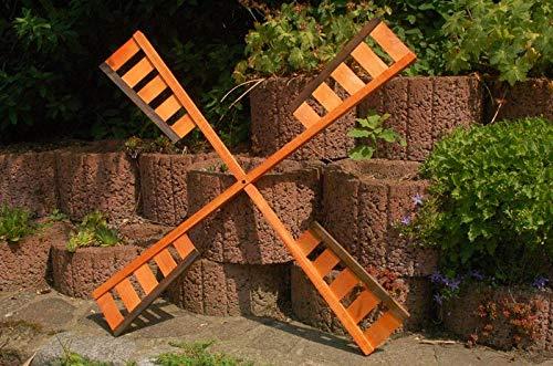 Deko-Shop-Hannusch Flügel Windrad Mühlenrad in verschiedenen Längen 67 cm, 92 cm oder 100 cm aus Holz, vollständig behandelt, Windmühle, Ersatzteile, Spannweite:92 cm