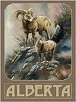 レトロおかしい金属錫サイン8 x 12インチ(20 * 30 cm)ヤギブリキ看板警告通知パブクラブカフェホームレストラン壁の装飾アートサインポスター(hs-1-63)