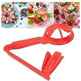 SONK Mini tagliapomodoro, Materiale plastico PP Pratico Gadget da Cucina, Bellissimi Utens...