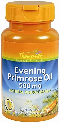 Thompson Essential Fatty Acids Evening Primrose Oil 500 mg 30 softgels a product image