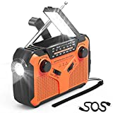 Best Noaa Radios - NOAA Emergency Weather Radio Portable Hand Crank Solar Review
