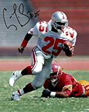 Carlos Snow Ohio State Buckeyes 8-1 8x10 Autographed Signed Photo - Certified Authentic