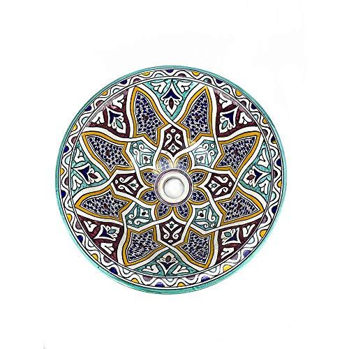 Marokkanisches Waschbecken 40 cm