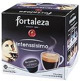 Café Fortaleza INTENSSÍSIMO | Compatibles con Dolce Gusto - Pack 3 x 12 - Total 36 cápsulas.