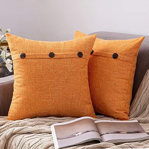 Cojín Naranja Sofa marca MIULEE